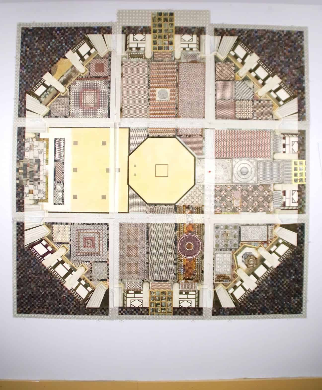 Anastylosis Project drawing of the Baptistery in Florence