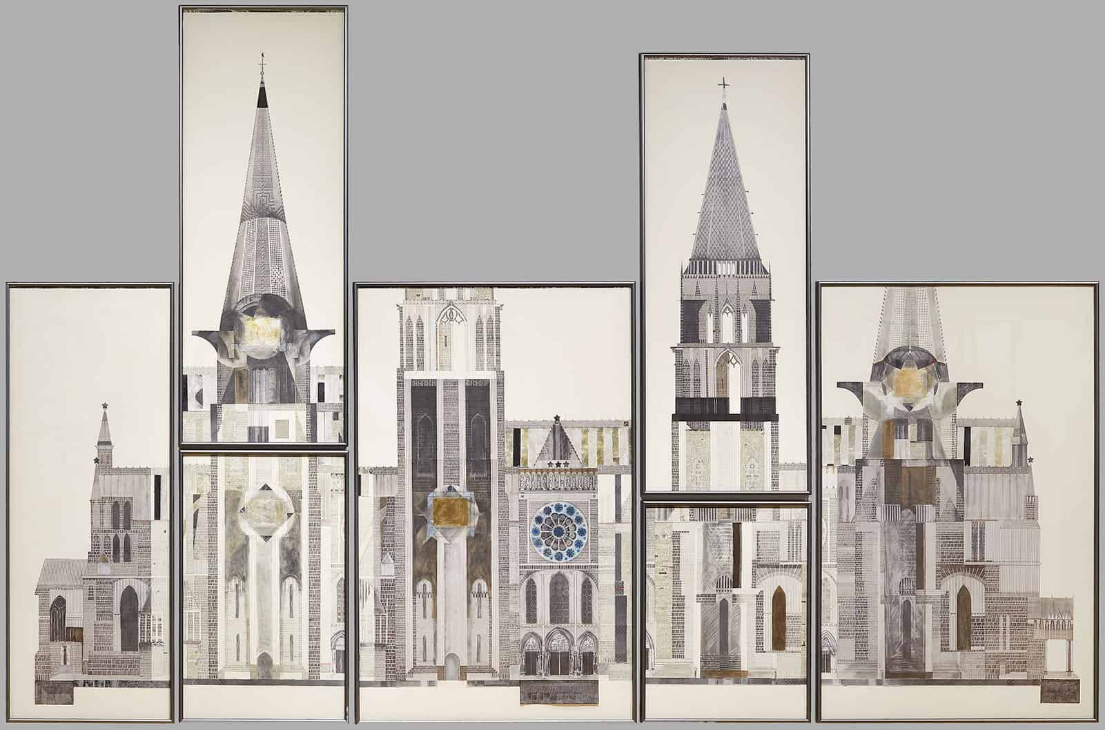 Chartres by Mary Griep