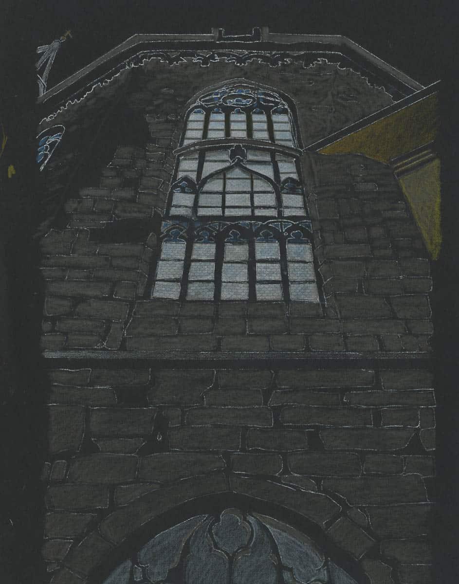 Franziskanerkirche Study by Mary Griep