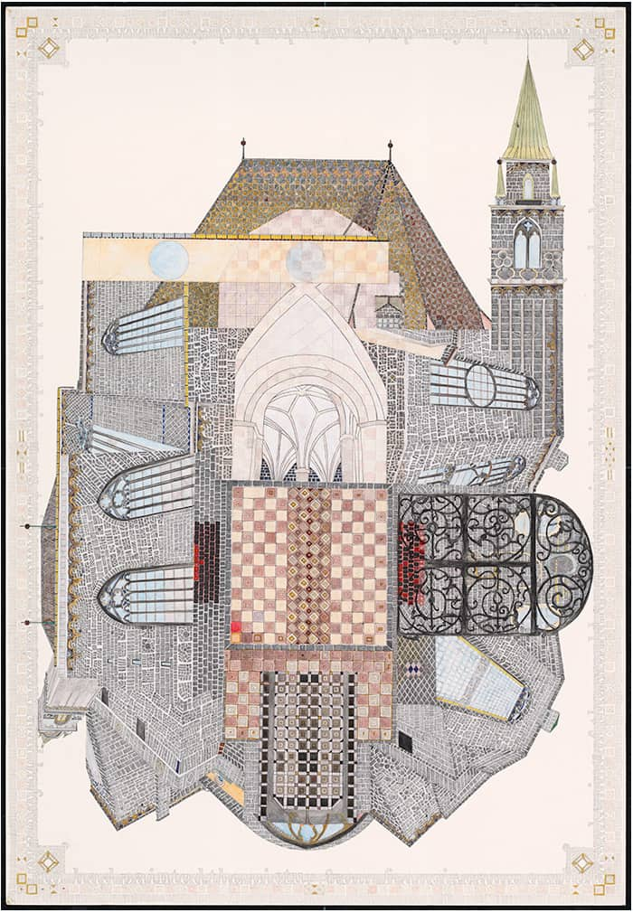The Franziskanerkirche by Mary Griep