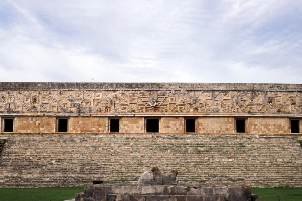 Palace of Governors, Uxmal, photo by Mary Griep