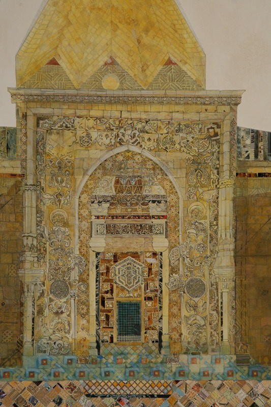 Ulu Camii Mosque west portal by Mary Griep